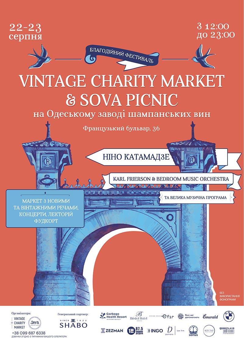 Vintage Charity Market & Sova Picnic