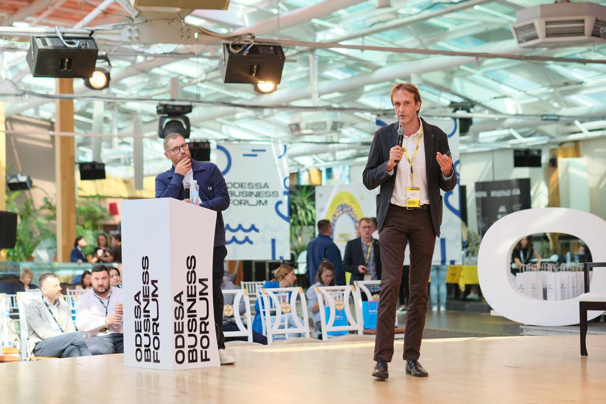 Как прошел первый бизнес-форум в Одессе, фоторепортаж