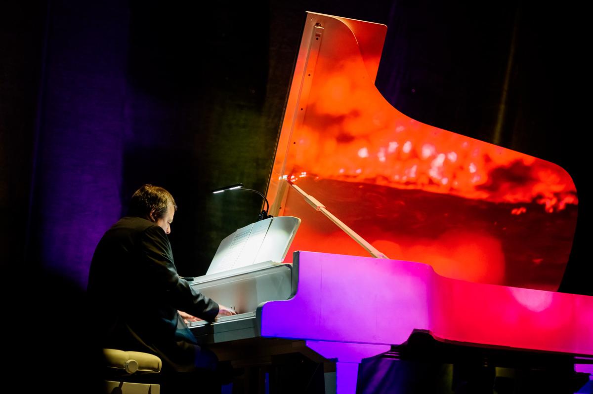 Piano Light Show Одесская филармониия