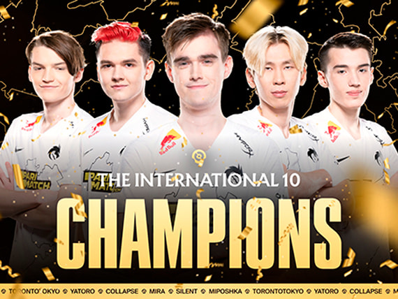 Team Spirit — чемпионы The International 10