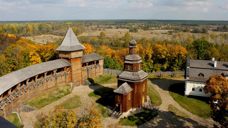 Батуринская крепость фото