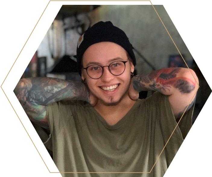 Михаил Бардак. Тату-артист, Samohin tattoo studio and art gallery