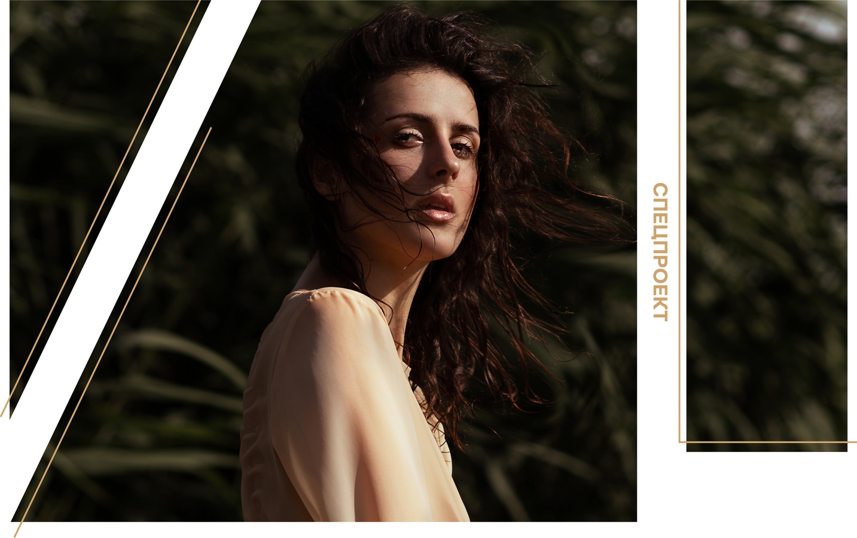 Татьяна Полторак модель в спецпроекте фото